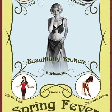 Beautifully Broken Burlesque Custom Poster
