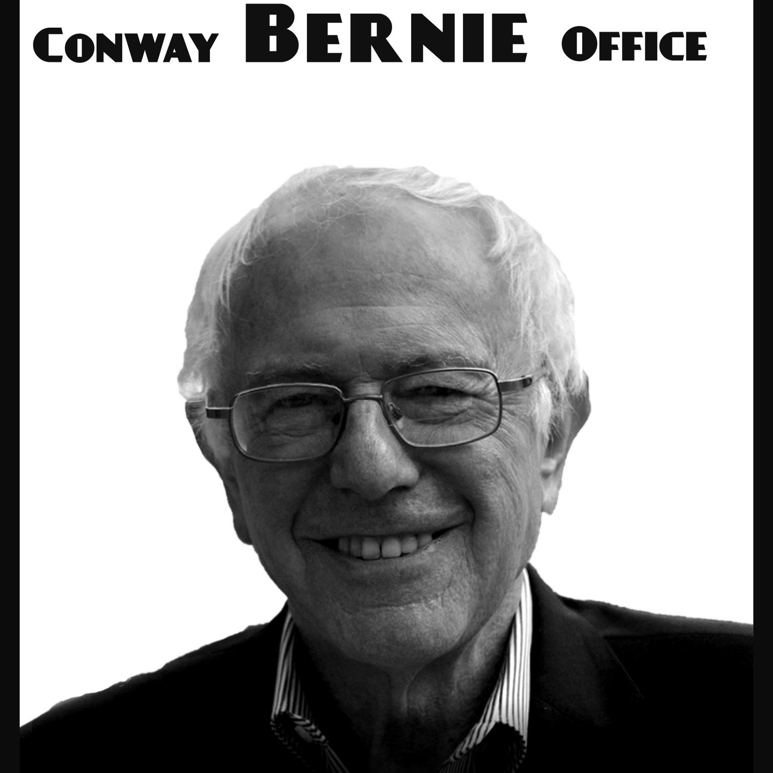 Bernie in Conway Poster V2