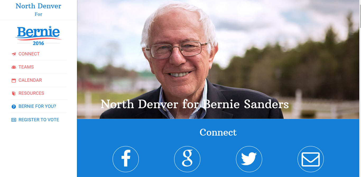 North Denver for Bernie Sanders